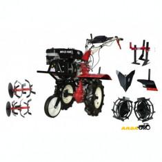 Motocultor SR1Z-100,Roti Metalice, Rarita Fixa, Plug,Prasitoare