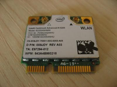 Placa wireless laptop Dell Latitude E6430, Intel Advanced-N 6205, 6205ANHMW foto