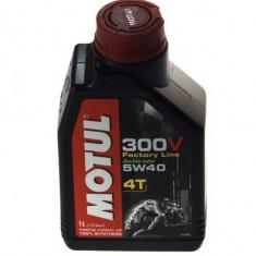 Motul ulei motor scuter moto 300V 4T Factory Line 5W40 4L