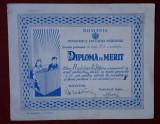 Diploma de merit - 1947 - Premiul II - Constanta - Scoala de baieti nr. 1