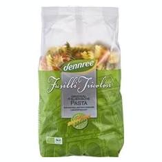 Paste Fainoase Fusilli Tricolore Ecologice 500gr Dennree Cod: 543262