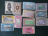 Colonii franceze-lot-nestampilate si MH, Nestampilat