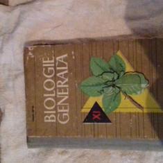 MANUAL VECHI PERIOADA COMUNISTA - BIOLOGIE GENERALA CLASA A XI-A DIN ANUL 1966