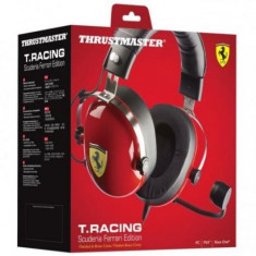 Casti Thrustmaster T.Racing Scuderia Ferrari Edition PC/PS4/XONE/SWITCH