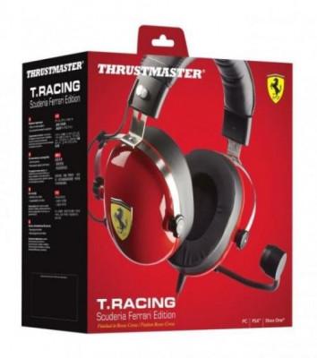 Casti Thrustmaster T.Racing Scuderia Ferrari Edition PC/PS4/XONE/SWITCH foto