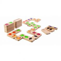 Joc de domino cu fructe si legume