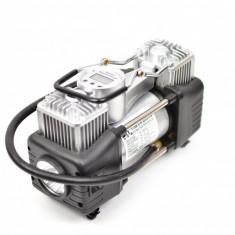 Set compresor auto, doi cilindri, display digital, 12V (bricheta) - Camion, SUV 85/min - 762DIGITAL