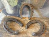 Design / Decor / Noroc / Potcoava - lot Potcoave vechi de cal modele deosebite !