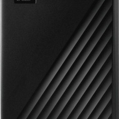 Hard disk extern WDC My Passport 4TB USB 3.2 2.5 inch Black