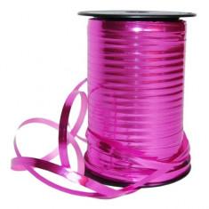 Snur rafie roz fuchsia pentru legat baloane