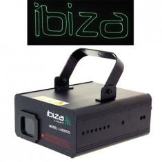 Laser 50mw dmx green graphic