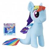 My Little Pony - jucarie plus 25 cm Rainbow Dash cu codita de sirena, Hasbro