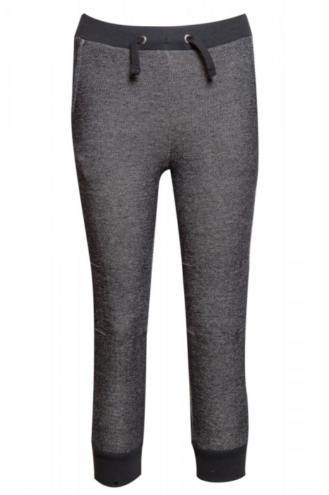 Pantaloni de trening pentru copii Alive, Negru/Alb