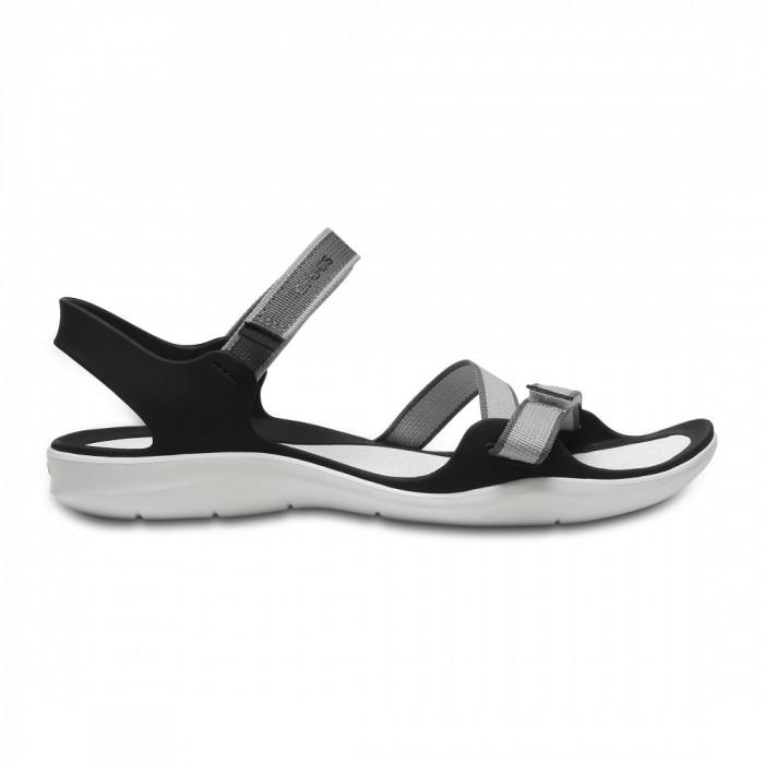 Sandale Femei casual Crocs Swiftwater Webbing Sandal