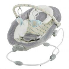 Leagan muzical cu vibratii BR245 Grey Baby Mix