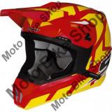 MBS Casca motocross Scott 350 Tread Red, rosu/galben, M=57-58, Cod Produs: 2254311648MAU