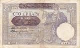 SERBIA 100 dinara 1941 VF!!!
