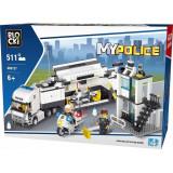 Joc constructie Blocki, Statie mobila de politie, 511 piese