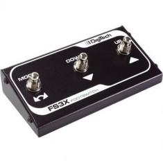 DigiTech FS3X - 3 Button Footswitch