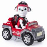 Mini vehicul de salvare Paw Patrol Mission Paw cu figurina Marshall