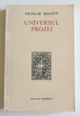 Nicolae Balotă - Universul prozei foto