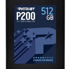 SSD Patriot P200, 512GB, 2.5inch, SATA III