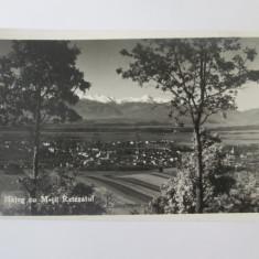 Carte postala foto Hateg,circulata 1941
