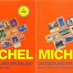 Michel Deutchland Spezial 2007 vol 1+2 - cartile, sigilate