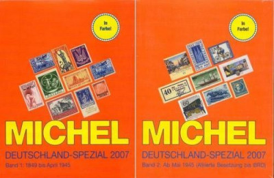 Michel Deutchland Spezial 2007 vol 1+2 - cartile, sigilate foto