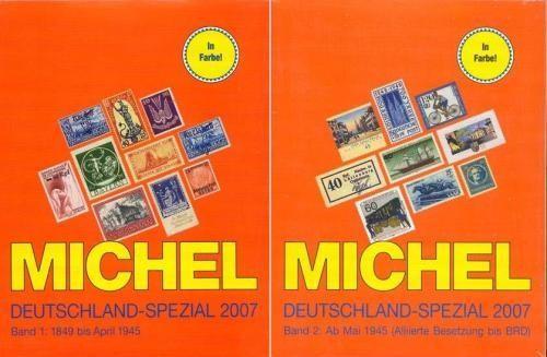 Michel Deutchland Spezial 2007 vol 1+2 - cartile, sigilate