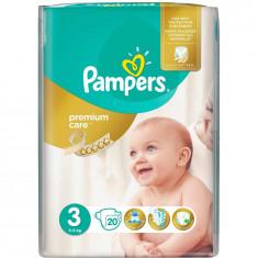 Scutece Pampers Premium Care 3 Midi Small Pack, 20 bucati