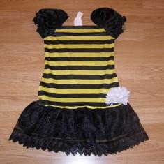 Costum carnaval serbare albina albinuta pentru copii de 8-9-10 ani, 8-9 ani, Din imagine