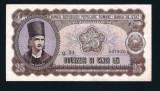 ROMANIA - Bancnota 25 Lei 1952 , serie albastra. Stare foarte buna