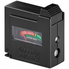 Tester pentru baterie Goobay, afisaj analog