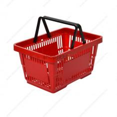 Cos pentru cumparaturi, 10 kg, rosu (RO-300-P)