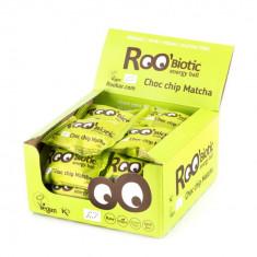 ROObiotic energy ball ciocolata si matcha bio 22g