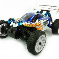 Himoto EXB-16 Buggy 1:16 4x4 2.4GHz RTR (HSP Troian) - Albastru