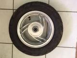 Roata Fata cu Anvelopa tubeless 3.5-10 55J Scuter China