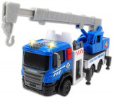 Masinuta de constructie Dickie Toys City Builder Camion cu macara