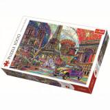 Cumpara ieftin Puzzle Trefl, Culorile Parisului, 1000 piese