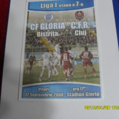 program        Gloria  Bistrita  -  CFR Cluj