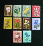 Plante medicinale, serie neuzata, MNH, L.P. 485, 1959, Nestampilat