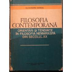 FILOSOFIA CONTEMPORANA - ALEXANDRU BOBOC