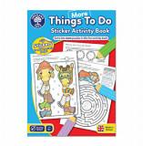 Cumpara ieftin Carte de colorat cu activitati in limba engleza si abtibilduri - Mai multe lucruri de facut, orchard toys