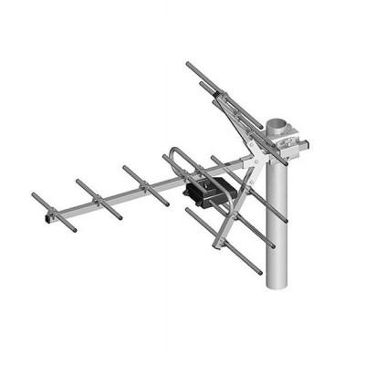 Antena Yagi directionala, pentru receptia canalelor TV UHF (21-60), 11 elementi foto