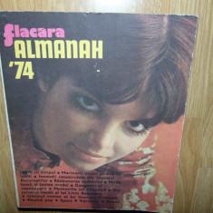 ALMANAH FLACARA ANUL 1974