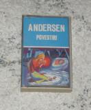 caseta povesti Andersen -Fetita cu chibrituri/Amnarul/Privighetoarea,Electrecord
