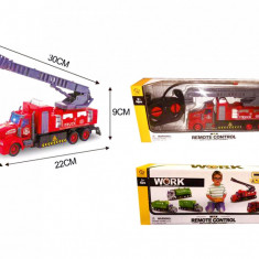 Masinuta de Pompieri cu telecomanda (Camion RC)
