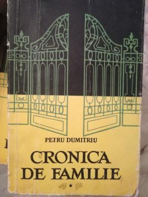 Cronica de familie, Petru Dumitriu, 3 volume, editie 1956 foto