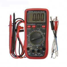 Multimetru digital 61A, 10 functii, cu sonda temperatura